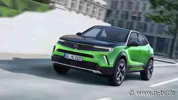 Hohe Nachfrage nicht befriedigt: Opel baut nicht genug Elektro-Mokkas