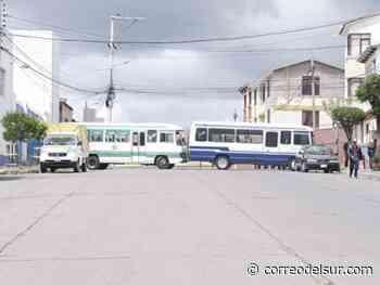 Sucre: El Sindicato San Cristóbal anuncia que bloqueará la ciudad el martes - Correo del Sur