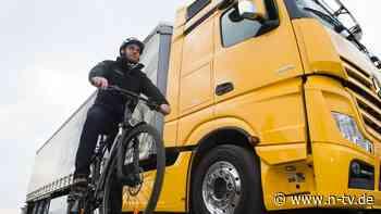 Bedingung für Abwrack-Förderung: Lkw-Prämie wird an Radfahrerschutz gekoppelt