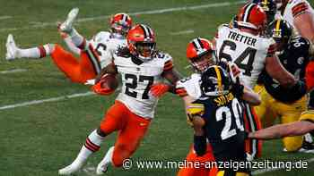 Jackson siegt erstmals in Playoffs - Saints weiter - Browns sorgen für Mega-Spiel