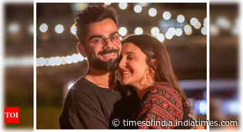 Celebs pour in wishes for Anushka & Virat