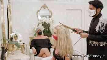 Il Salone delle Meraviglie 4: Valeria Marini ospite nel salone di Federico Fashion Style