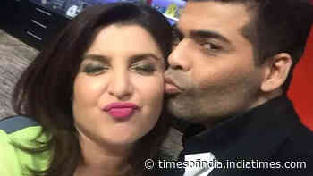 Did you know that Karan Johar once rejected Farah Khan's marriage proposal?