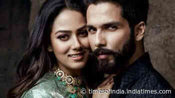 Shahid Kapoor's wife Mira Rajput is unhappy with his film choices