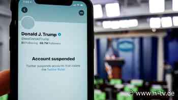 US-Präsident verliert Sprachrohr: Merkel moniert Twitter-Sperre für Trump