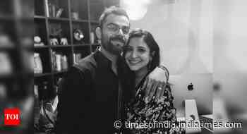 Fans shower Anushka-Virat with sweet wishes