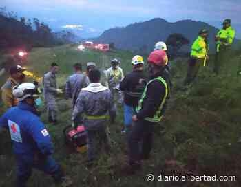 Fuerza Aérea apoyó rescate de aeronave accidentada en Bojacá - Diario La Libertad