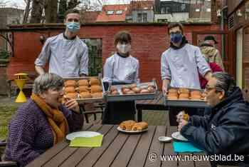 Gratis worstenbrood voor blinden en slechtzienden
