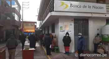 Inmensas colas se formaron en el Banco de la Nación en Macusani - Diario Correo