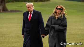 """First Lady nimmt Abschied: Melania Trump ist """"enttäuscht und entmutigt"""""""