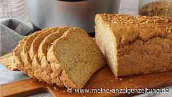 Abnehmen mit Low-Carb-Brot: Dieses Brot macht lange satt und geht schnell
