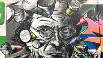 """Graffiti gegen SPD-Politiker: """"Querdenker"""" nehmen Lauterbach ins Visier"""