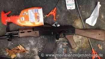 Frau meldet Kalaschnikow-Sturmgewehr in Audi – Polizeieinsatz fördert Überraschendes zutage