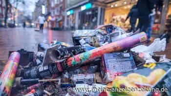 Ausgefallenes Silvester-Feuerwerk hat Deutschland 3.500 Tonnen Müll erspart