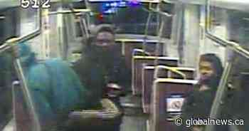3 men sought after 79-year-old man pushed off Toronto streetcar and robbed: police
