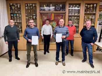 Mario Bauer gewählt: Feuerwehr Steinfurt unter neuem Kommando - meinbezirk.at
