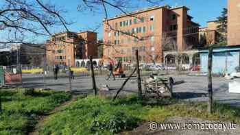 Garbatella, iniziati i lavori per l'ampliamento del parco: ingloberà l'ex mercato