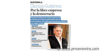 Dionisio Gutiérrez was selected among the 50 most admired businesspeople in Central America according to Estrategia y Negocios