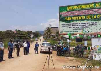 Junín: Reordenan tránsito vial en Pangoa - INFOREGION