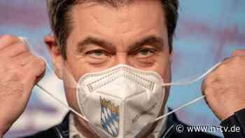 Bei Pflegern zuviel Verweigerung: Söder denkt laut über Impfpflicht nach