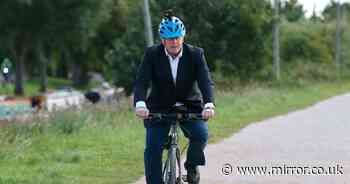 'Boris Johnson's 7-mile bike ride adds to them-and-us division'