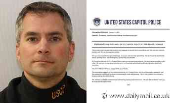 Family of killed Capitol Police officer Brian Sicknick release heartbreaking statement