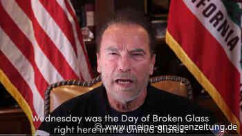 Schwarzenegger rechnet mit Trump ab - und vergleicht Vorfall mit der Reichspogromnacht