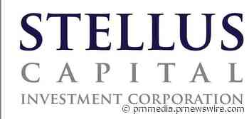 Stellus Capital Investment Corporation Prices Offering Of $100 Million Of 4.875% Notes Due 2026