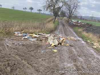 Wilde Müllablagerung in Grupenhagen » Hessisch Oldendorf - neue Woche