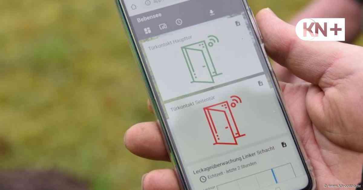 Sensor-Netz für Wahlstedt - Sehen, wann Tür offen und Tonne voll ist - Kieler Nachrichten