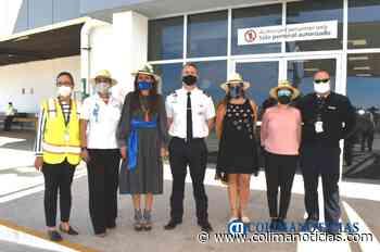Dan bienvenida al tercer vuelo Dallas-Manzanillo - colimanoticias
