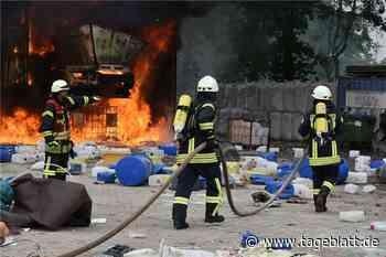 So arbeitet die Feuerwehr unter Corona-Bedingungen - TAGEBLATT - Lokalnachrichten aus Harsefeld. - Tageblatt-online