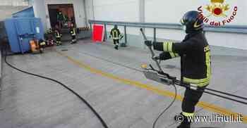 Maniago, principio d'incendio al compattatore della carta - Il Friuli