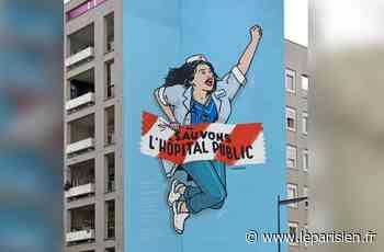 A Montreuil, une fresque au secours de l'hôpital - Le Parisien