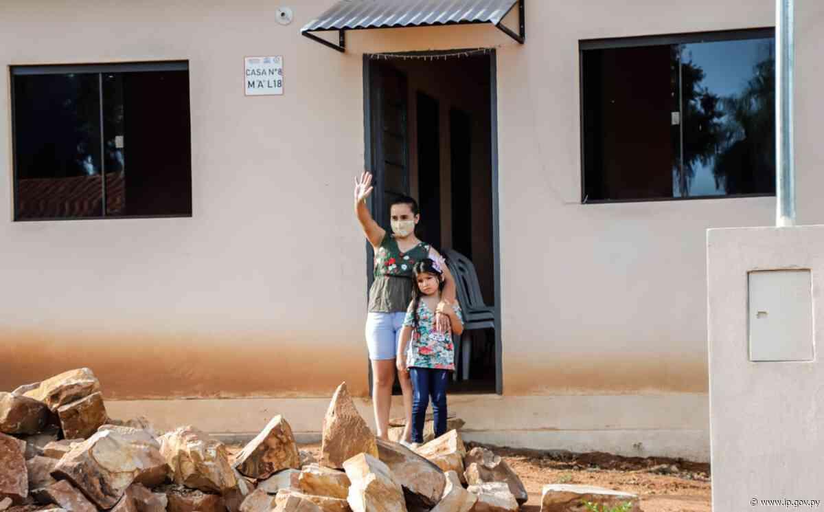 Nuevas viviendas sociales para 43 familias de Loma Grande   - ip.gov.py