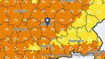 Extrem-Lage in München: Experte kündigt intensives Wetter-Ereignis an - schon jetzt gelten mehrere Warnungen