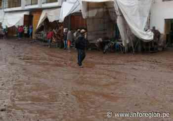 Cusco: Desborde fluvial inunda viviendas y calles en Pisac - INFOREGION