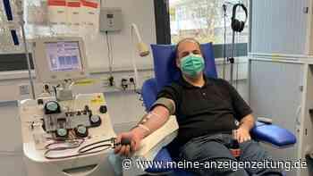 BRK Bereitschaft Ismaning: Rettungssanitäter Jens Bambach spendet Antikörper- Chance für erkrankte Patienten