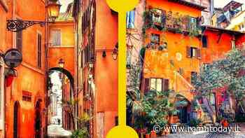 I vicoli di Roma: archi, cortili, insegne e palazzi nobiliari tra i rioni Regola e Parione