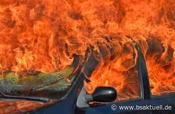 Kettershausen: Fahrzeug beginnt zu brennen - BSAktuell