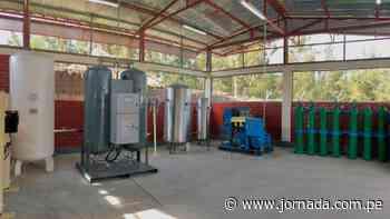 Instalan tercera planta de oxígeno en Coracora - Jornada