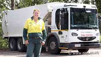 Why this female garbage truck driver hopes more women will join her