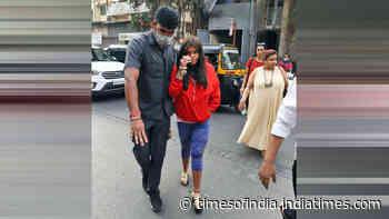 Ekta Kapoor clicked at a Bandra restaurant