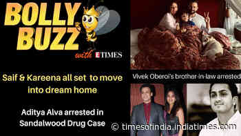 Bolly Buzz: Kareena Kapoor Khan and Saif Ali Khan's new dream home; Vivek Oberoi's brother-in-law arrested