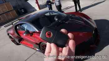 """YouTuber """"entpackt"""" 5-Millionen-Bugatti – doch das Netz interessiert sich nur für ein Detail"""