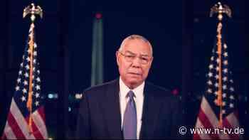 """""""Kann kein Republikaner sein"""": Ex-Außenminister Powell verlässt Partei"""