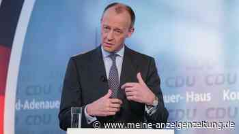 CDU-Parteitag: Hamburger Union will Merz als Scholz-Gegner