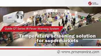 Guide Sensmart Launches New Guide QT Series IR Fever Warning System for Temperature Measurement featuring 5-minute Easy Installation