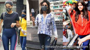 From Ananya Panday to Neetu Kapoor, Bollywood celebs spotted in Mumbai