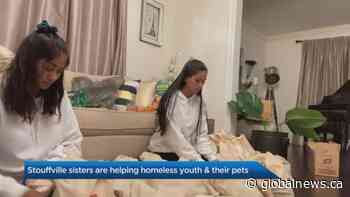 Stouffville sisters supporting Toronto's homeless youth with care kits